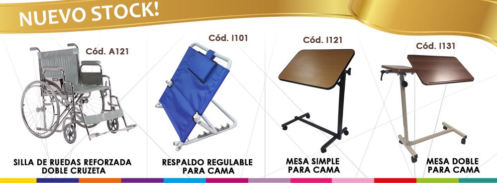 Mesas y Respaldo