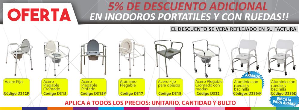 Oferta Inodoros Portatiles