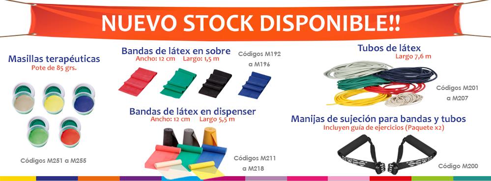 NUEVO STOCK DISPONIBLE !!! PRODUCTOS PARA FISIOTERAPIA !!!