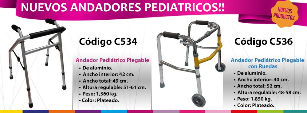 NUEVOS PRODUCTOS: ANDADORES PEDIATRICOS !!!