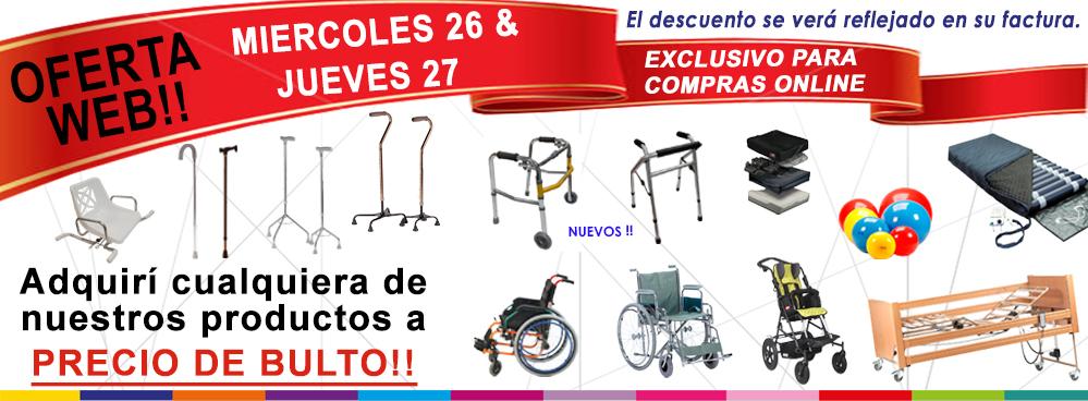 OFERTA WEB !! MIERCOLES 26 Y JUEVES 27 DE SEPTIEMBRE !! TODO A PRECIO DE BULTO !!
