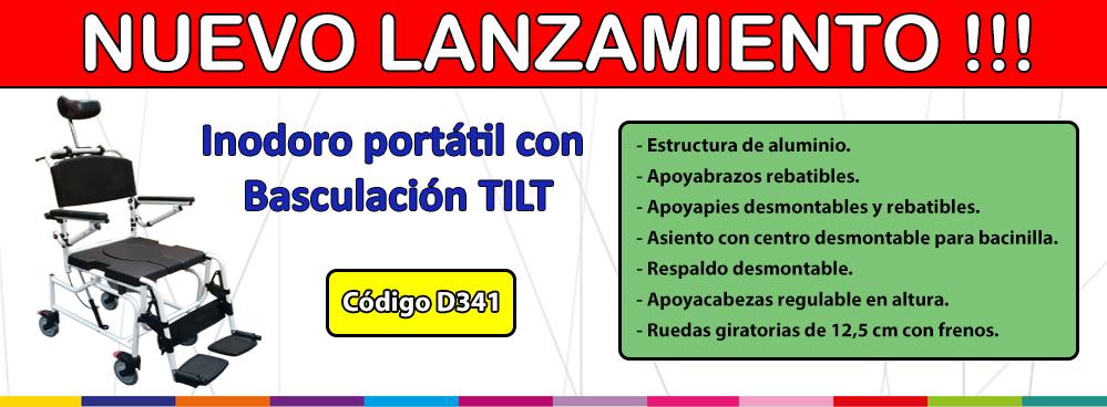 NUEVO LANZAMIENTO !! INODORO PORTATIL CON BASCULACION TILT !!