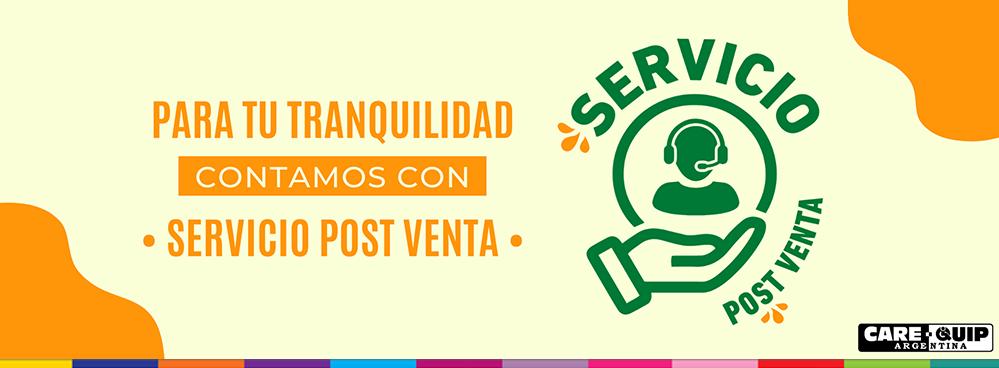 PARA TU TRANQUILIDAD CONTAMOS CON SERVICIO POST VENTA !!!