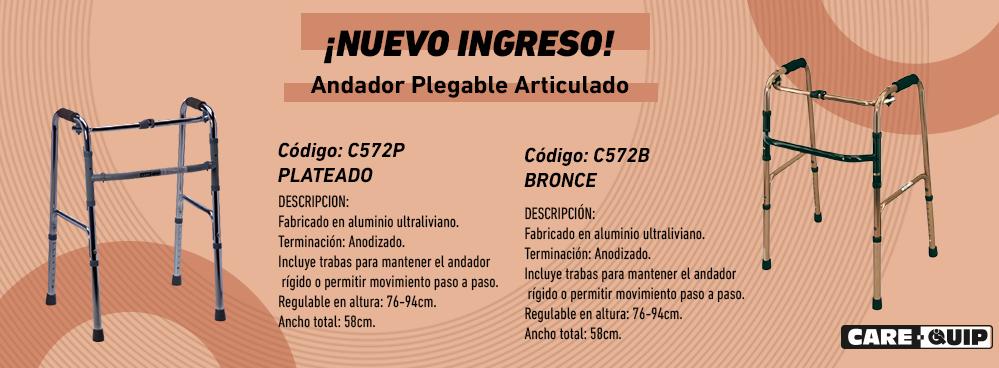 NUEVO INGRESO !!! ANDADOR PLEGABLE ARTICULADO !!!