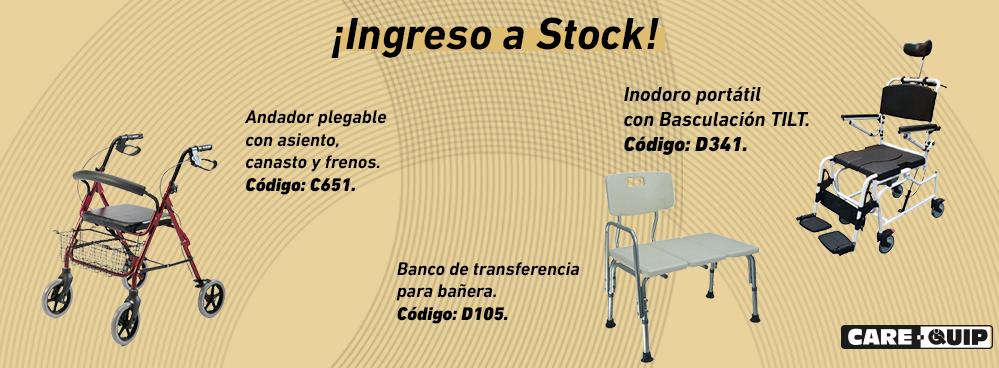 INGRESO A STOCK !!! ANDADORES Y AYUDAS PARA EL BANO !!!