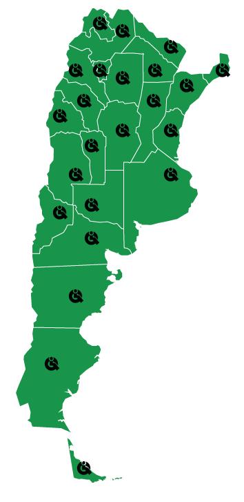 Puntos de Venta Care-Quip Argentina