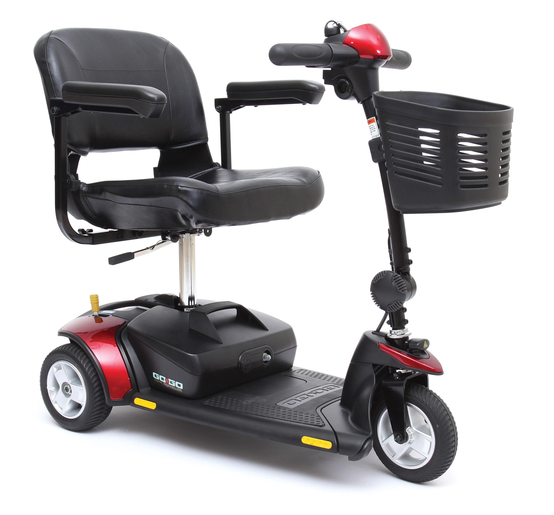 Scooter Motorizado de 3 ruedas
